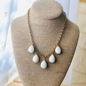 Two sided statement necklace